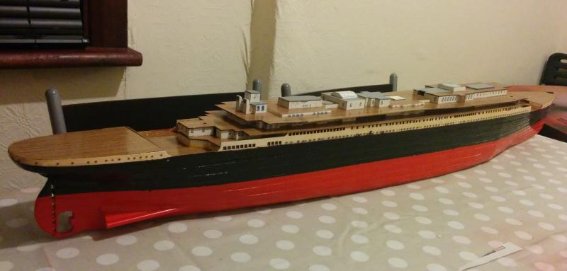 Half finished Titanic